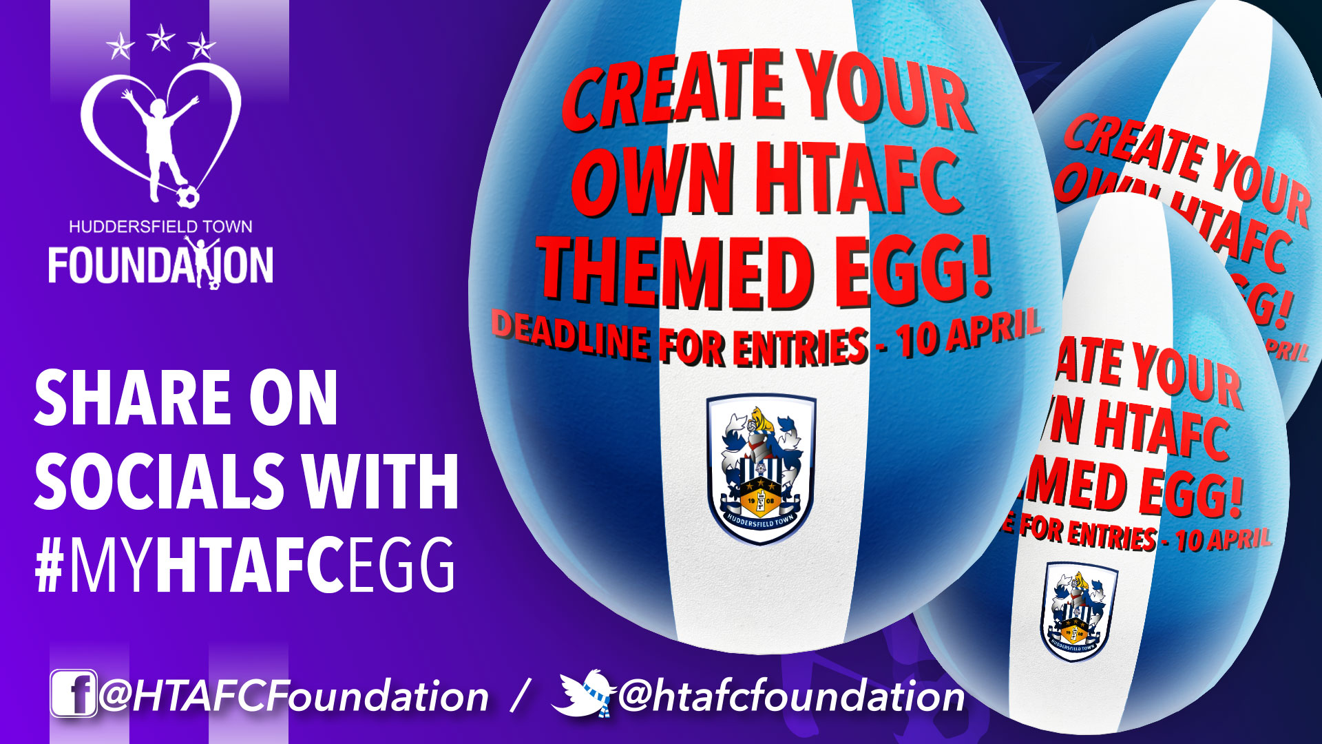 Enter our #myhtafcegg Easter competition