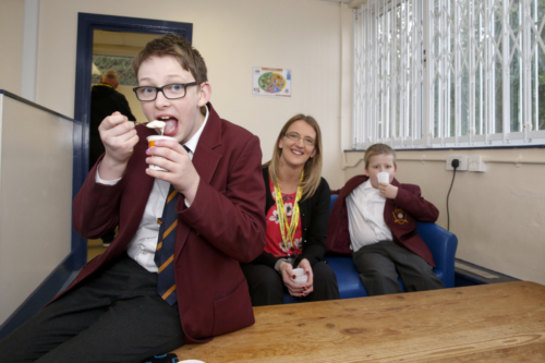 Colne Valley High School Breakfast Club Launch 01.04.19