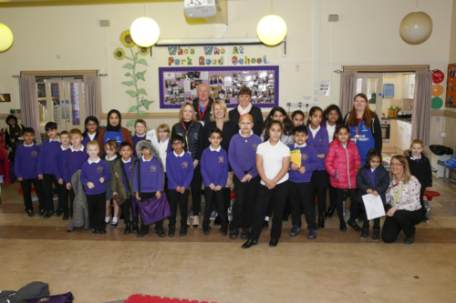 Park Road J I & N School Breakfast Club Launch 04.03.19