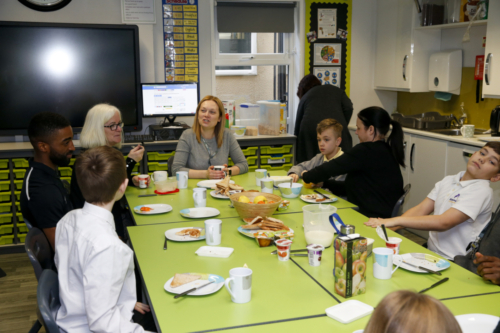 Engage Academy Breakfast Club Launch 04.03.19