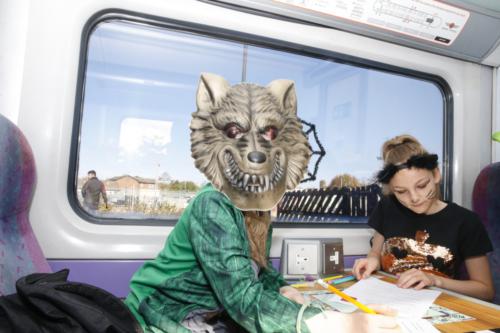 Spooky Train iq-0057