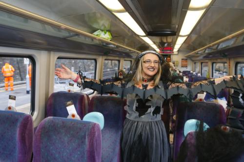 Spooky Train iq-9684