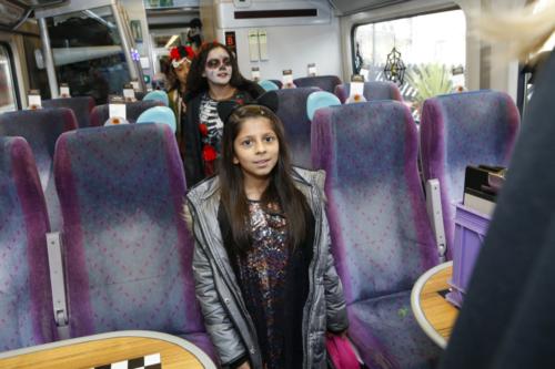 Spooky Train iq-9828