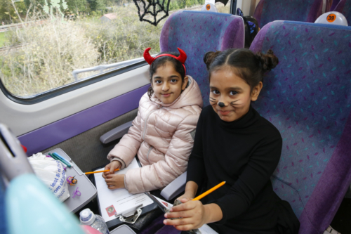 Spooky Train iq-9878