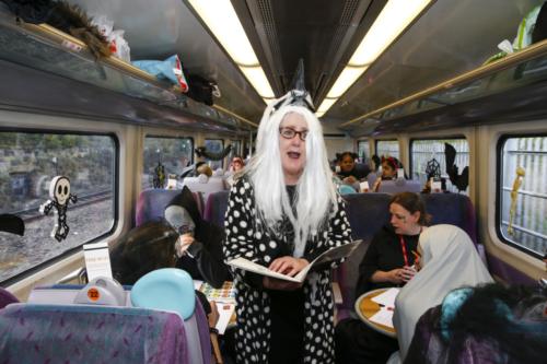 Spooky Train iq-9935